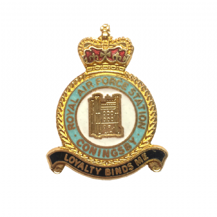 Royal Air Force RAF Station Coningsby Lapel Badge